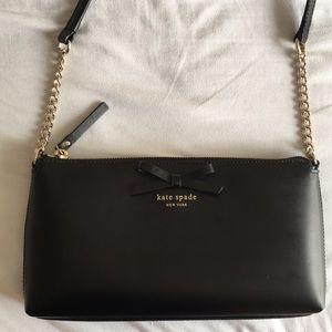Kate Spade Black Bow Handbag